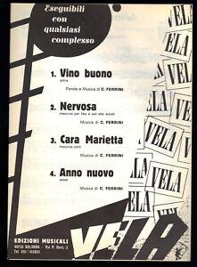 VINO-BUONO-NERVOSA-CARA-MARIETTA-ANNO-NUOVO-C-Ferrini-SPARTITO