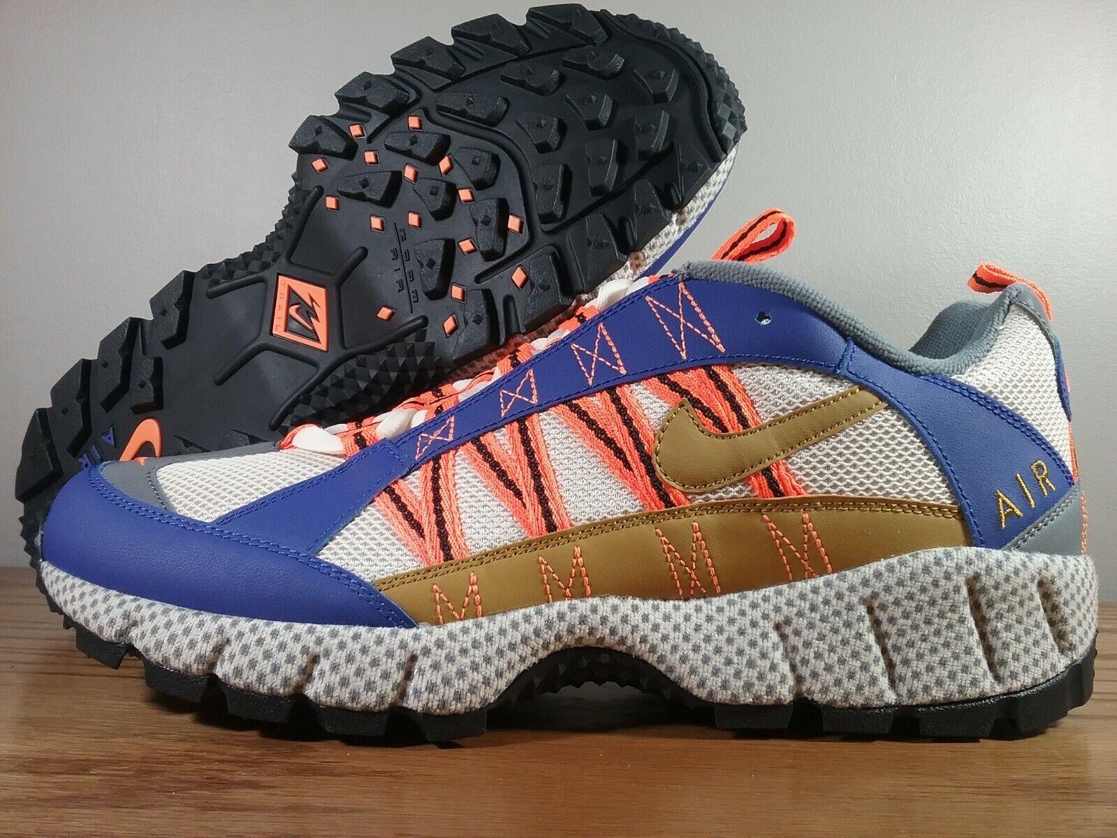 Nike Air Humara '17 QS Trail Running shoes blueee orange Cream AO3297-400 Men's Sz