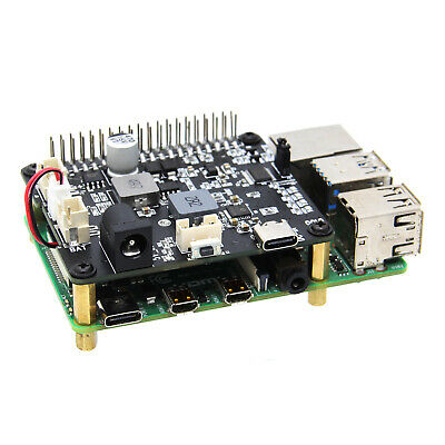 Utini 1pc Power Supply Board 4x0.1uF//100V Dual Power Rectifier Filter Power Supply Board Parallel Output for Amplifier 75122mm