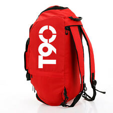 Red Backpack T90 Waterproof Is Suing Men Luggage Travel Bag Gym Bag Sports Bags