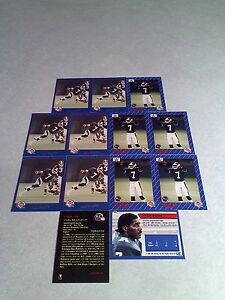 Carl-Brazley-Lot-of-21-cards-3-DIFFERENT-Football-CFL