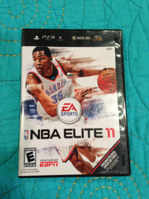 NBA ELITE 11 SONY PLAYSTATION 3 PS3 LOOSE COPY RARE VERY FEW COPIES IN THE WORLD
