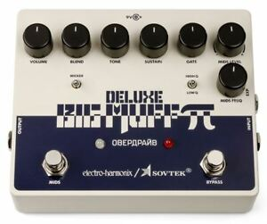 electro harmonix sovtek deluxe big muff pi fuzz pedal 683274012124 ebay. Black Bedroom Furniture Sets. Home Design Ideas