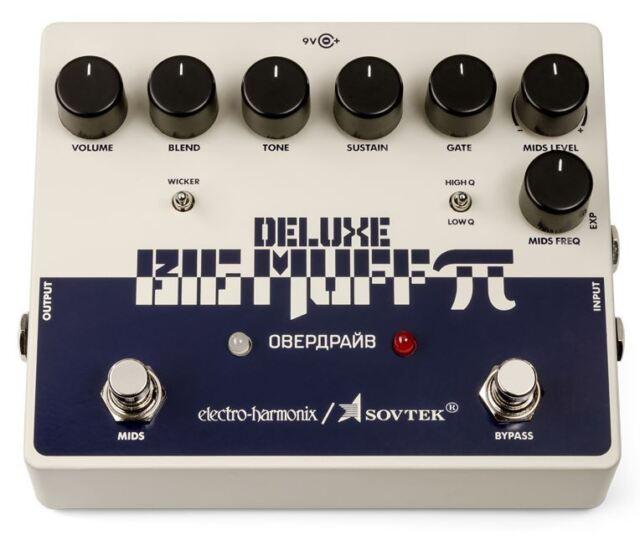 Electro-Harmonix Sovtek Deluxe Big Muff Pi Fuzz Pedale