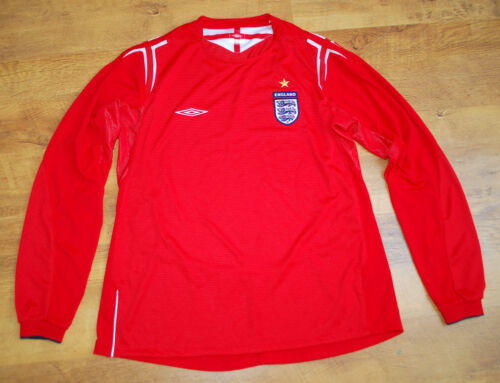New Umbro England 20042006 ladies longsleeved away shirt Size 14