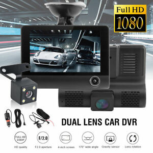 HD-1080P-3-Lens-Car-DVR-Dash-Cam-G-sensor-Vehicle-Video-Recorder-Rearview-Camera