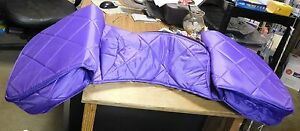NEW-NYLON-INSULATED-SADDLE-BAGS-PURPLE-TRAIL-RIDING-EQUIPMENT-PACK-HORSE-TACK