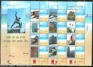 ISRAEL-COMMEMORATES-THE-70th-ANNIVERSARY-OF-HUNGARIAN-JEW-HOLOCAUST-SHEET-III