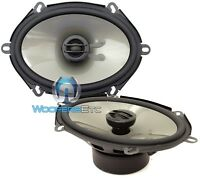 Jl Audio C2-570x 5x7 6x8 Evolution Coaxial Speakers Silk Dome Tweeters