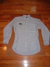 SEARS TEAM AUTOMOTIVE Work Dress Button-up Shirt; Size L(?) Edwards