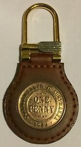 One Penny Keyring - Ideal Birthday gift you select date - Presentation Boxed.