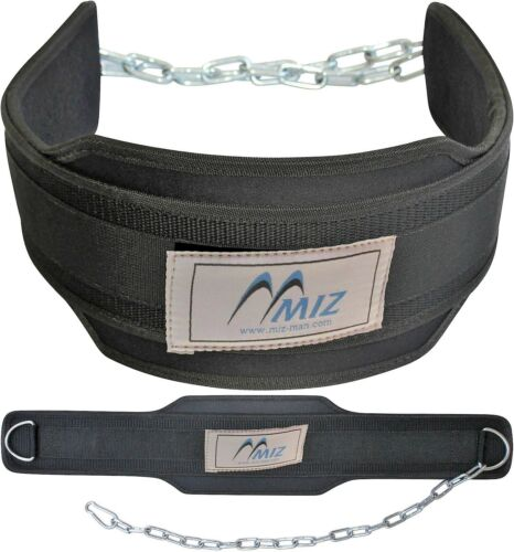 Weight Lifting Dipping Belt Chain Supports Bodybuilding Gym /& Fitness Training