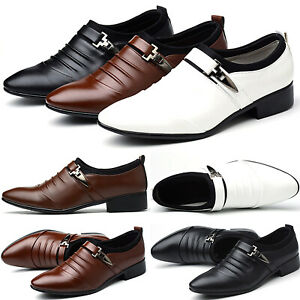 sports shoes 8a33f fe9b1 Details zu Klassische Herren Business Schlüpfen Formell Anzug Schuhe  Halbschuhe Loafers Neu