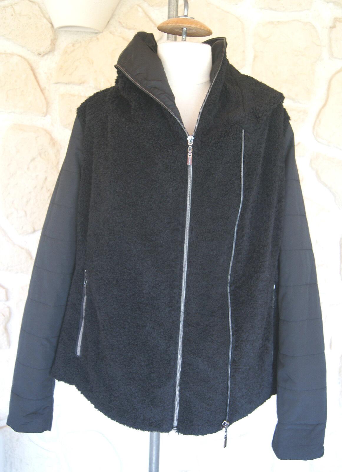 Manteau black neuf de marque Beaumont size 40 étiqueté à