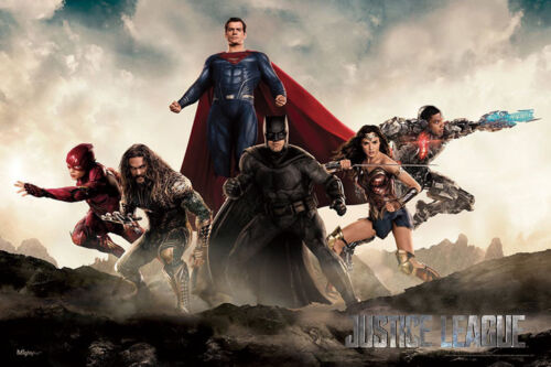 Y534 Justice League DC Movie Superhero Batman Flash Silk Poster 21 24x36 27x40IN