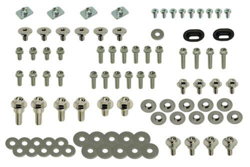 Nickel Wurks Show Body Bolt Kit Honda CRF plastics fenders 150 250 450 R models