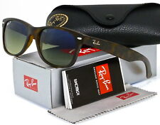Ray-Ban RB2132 Wayfarer 894 76 Matte Havana Polarized Sunglasses 55mm Lens