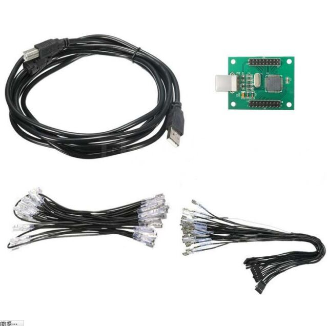 Xin Mo Arcade to USB Controller Wiring Kit 2 Player For MAME PC Keyboard Encoder