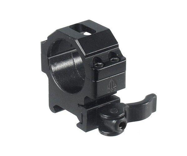 Anello basso, tubo 30 mm , scina Weaver Picatinny - - - UTG Leapers  mejor servicio