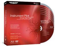 Virtual Test Prep - Instrument Rating Video Dvd Ground School Asa-vtp-i