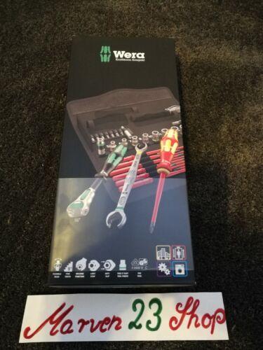 expédition dans le monde entier libre 35 pièces Jeu d/'outils Wera Kraftform W1 Compact Maintenance