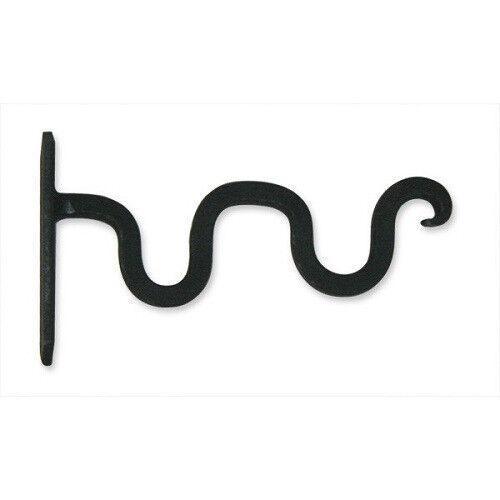 Wrought Iron Scroll Bracket//Hook