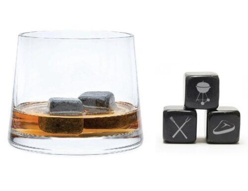 Soapstone Beverage Cubes Teroforma Icon Whisky Stones Summer BBQ