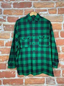 Vintage-Polo-Country-Ralph-Lauren-Buffalo-Plaid-RRL-Jagd-Arbeit-Flannel-Shirt