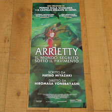 ARRIETTY IL MONDO SEGRETO locandina poster Karigurashi no Yonebayashi R49