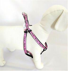 Pettorina cane rosa per cani Betty Boop in nylon taglia piccola media