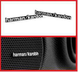 harman kardon logo. image is loading 2-x-aluminium-harman-kardon-speaker-logo-emblem- harman kardon logo r