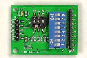Test-u-Experimentierboard-I2C-Bus-Switch-Bar-Arduino-Raspberry-PCF8574-IIC
