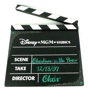 Disney-World-MGM-Studios-Black-White-Movie-Production-Clapboard