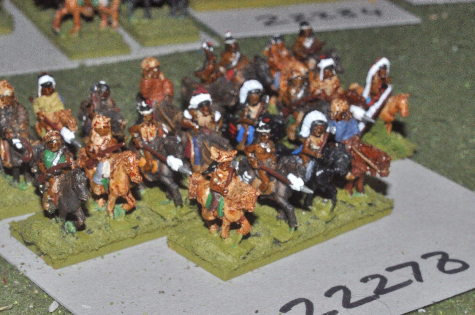 15 mm ACW Indian-Old West Warriors 20 figurines cavalerie-CAV (22278)