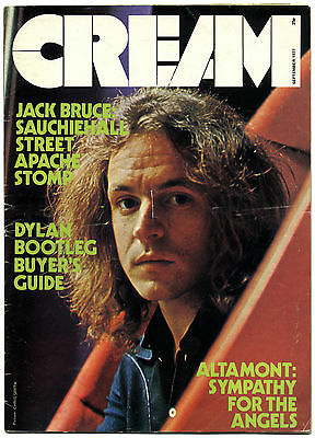 CREAM Magazine Sept 1971 Bob Dylan Ian Carr Frank Zappa Clive Davis Jack Bruce