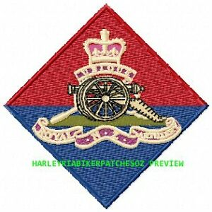 Royal-Regiment-of-New-Zealand-Artillery-badge-EMBROIDERED-BIKER-PATCH