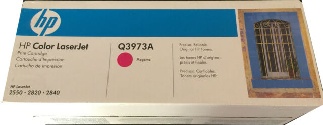 Genuine HP 123A Magenta Toner Cartridge (Q3973A) Free Postage
