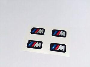 4x bmw m tec felgen alufgen rims aufkleber sticker logo. Black Bedroom Furniture Sets. Home Design Ideas