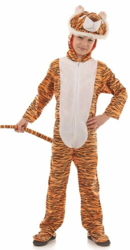 Girls Boys Tiger Cat Animal Book Day Week Carnival Fancy Dress Costume Outfit