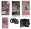 Custodia-UNIVERSALE-per-BRONDI-850-4G-Cover-LIBRO-STAND-magnetica-portafoglio miniatura 2