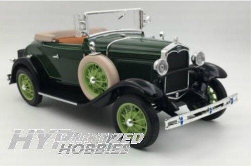 SUNSTAR 1 18 1931 FORD MODEL A ROADSTER DIE-CAST vert SS6123