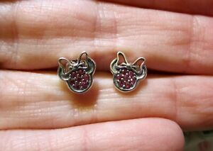 Pandora-Minnie-Mouse-Earrings-Sterling-Silver-Stud