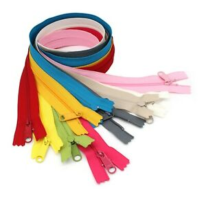 YKK-48-034-4-5-Handbag-Zippers-with-Extra-Long-Pull-Slider-Assortment-10-Colors