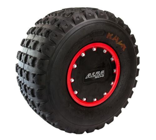 "KFX 450R KFX 400  Mud Plug   Beadlock Wheels 9/"" 10/"" set  Alba Racing"