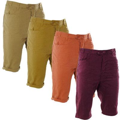 Original Soulstar Creased Summer Chino Shorts Mens Size