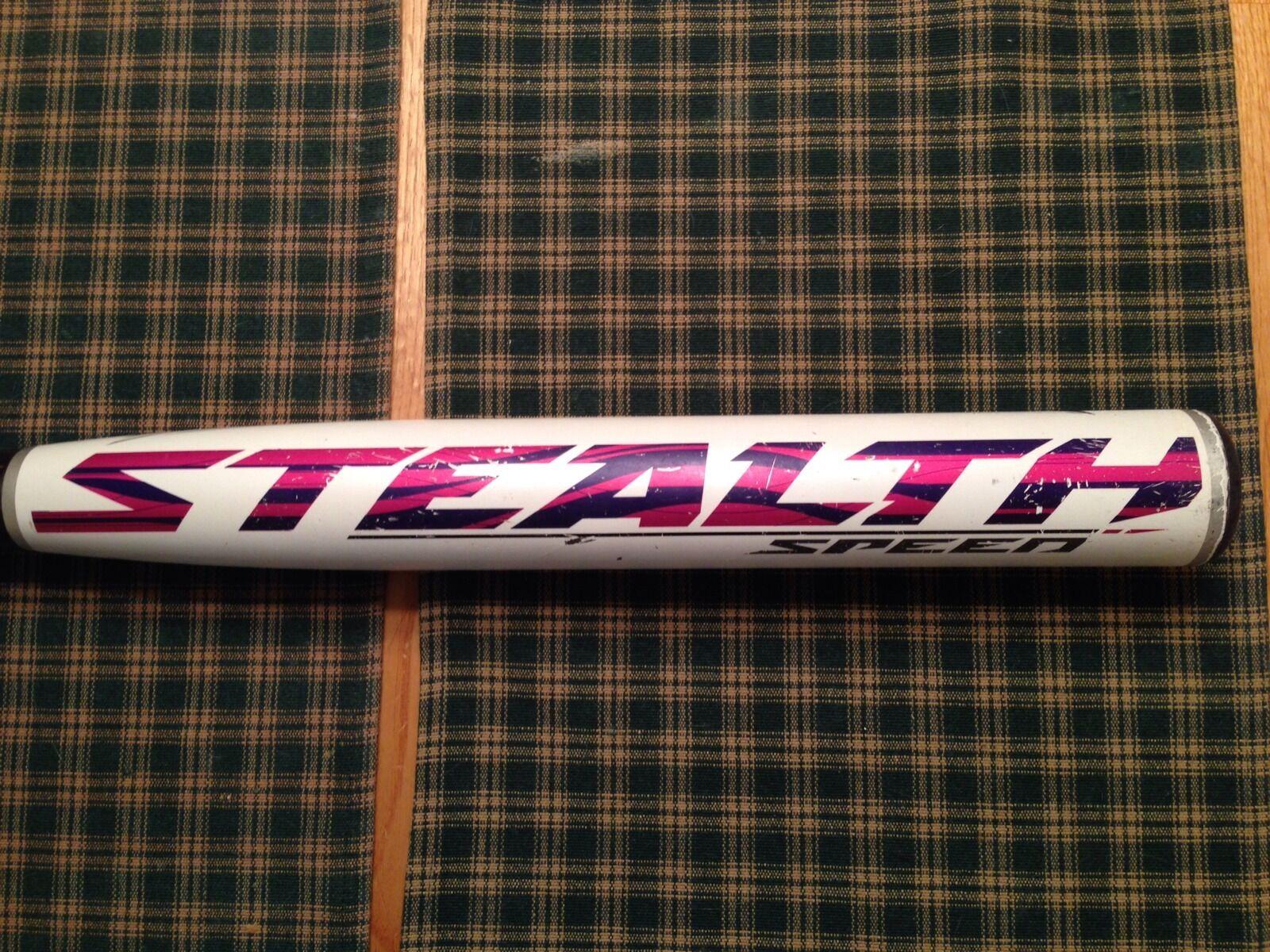 RARE USED Easton Stealth Speed SSR3B Fastpitch Softball Bat 33 23 ASA HOT