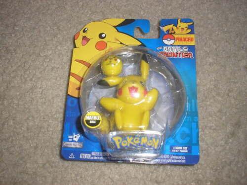 New Pokemon Battle Frontier Figure Pikachu w// Marble
