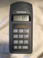 Radio Shack Ultrasonic Distance Measurer