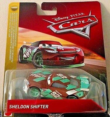 Disney Pixar Cars Sheldon Shifter Sputter Stop 92 Next Gen Piston Cup Racer 2018