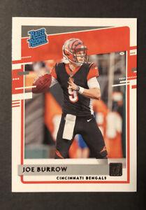 1 Card Joe Burrow Rookie Card 2020 Panini Donruss Rated Rookie #301 Bengals